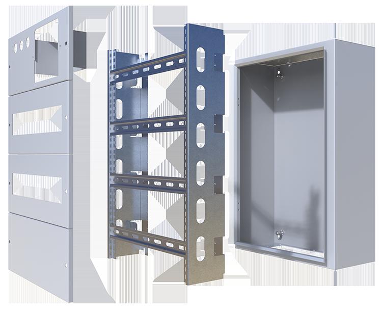 Profile montażowe do szafy elektrycznej IP65